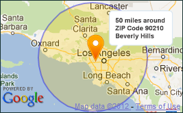 ZIP Codes in a Radius - ZIPCodeSoft on custom radius map, 400 miles by 300 miles map, radius point on a map, printable radius map, google maps radius tool map,